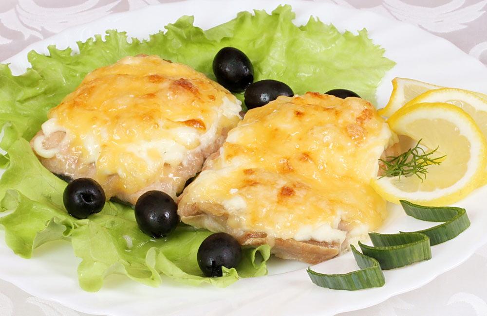 Филе горбуши в духовке под сыром рецепты