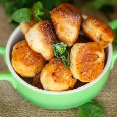 Быстрые пончики жареные в масле