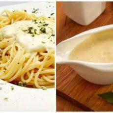 Сливочный соус для спагетти