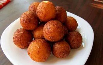 Творожные шарики, жареные в масле