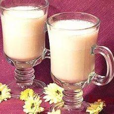 Домашний молочный коктейль с бананом